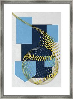 Tampa Bay Rays Art Framed Print by Joe Hamilton