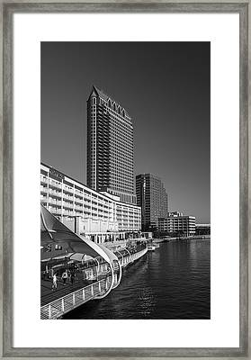 Tampa Gateway Framed Print by Marvin Spates