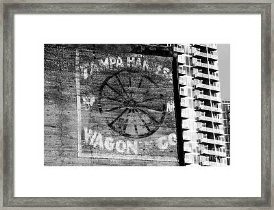 Tampa Harness Wagon N Company Framed Print by David Lee Thompson