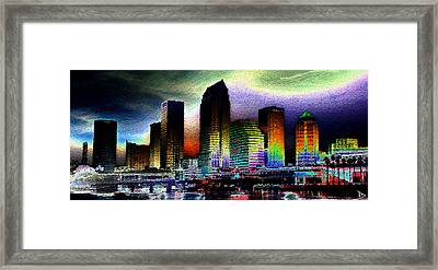 Tampa The Bold City Framed Print by David Lee Thompson