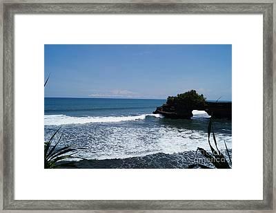 Tanah Lot Temple Bali Framed Print