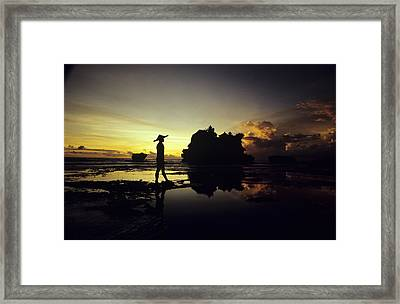 Tanah Lot Temple Framed Print