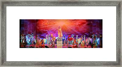 Tang Paradise Framed Print by Erika Lesnjak-Wenzel