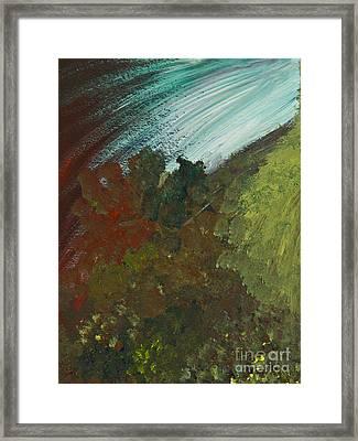 Tang/seaweed Framed Print