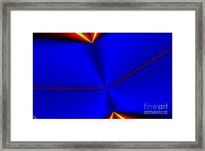 Tangent Framed Print