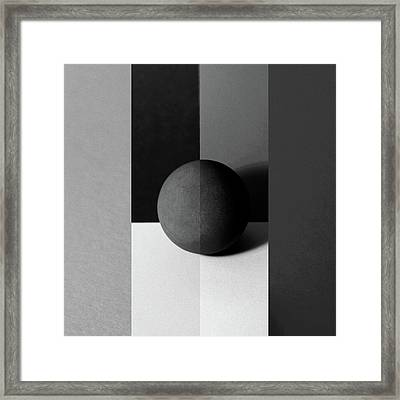 Tangent Framed Print by Tom Druin