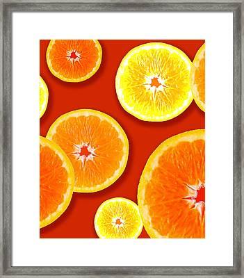 Tangerine Tango Framed Print