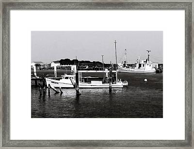 Tangier Island 3 Framed Print by Alan Hausenflock