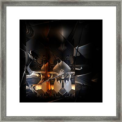 Framed Print featuring the digital art Tangier by Vadim Epstein