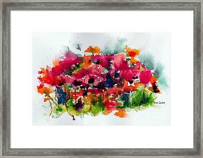 Tangle Framed Print by Anne Duke