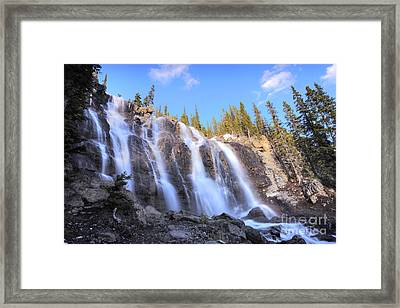 Tangle Falls Framed Print