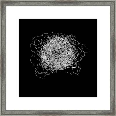 Tangled And Twisted Framed Print by Scott Norris
