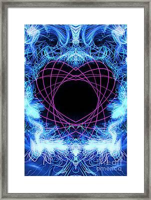 Tangled Heart Framed Print