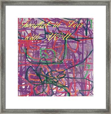 Tangled In Love With You Framed Print by Anne-Elizabeth Whiteway