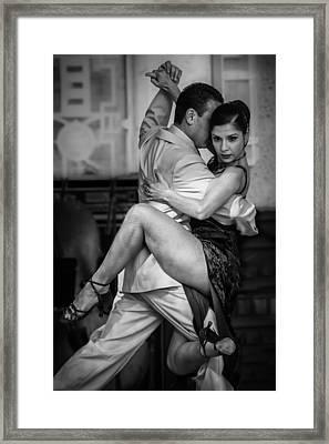 Tangled In Tango Framed Print