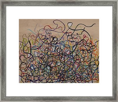 Tangled Framed Print by Jacob Stempky