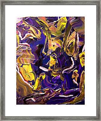 Tangled Torsos Framed Print by Karen L Christophersen