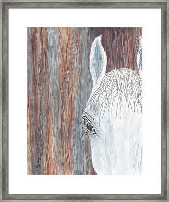 Tanglewood Framed Print by Kathryn Riley Parker