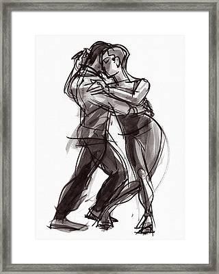 Tango #9 Framed Print