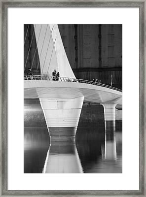 Tango Bridge Framed Print