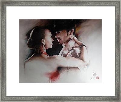 Tango Connection Framed Print