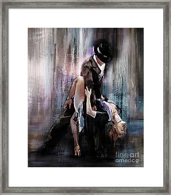 Tango Couple 05 Framed Print