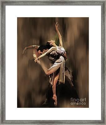 Tango Dance 9901 Framed Print