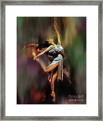 Tango Dance 9910 Framed Print