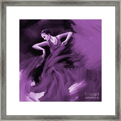 Tango Dancer 01 Framed Print