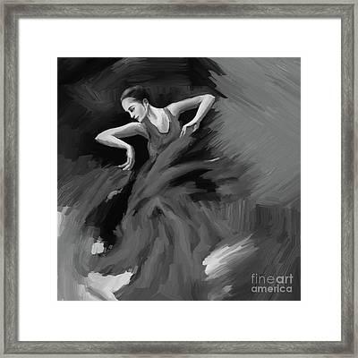 Tango Dancer 032 Framed Print
