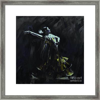 Tango Dancer 04 Framed Print by Gull G