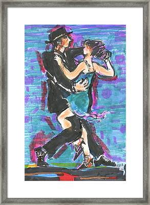 Tango J Framed Print by Mary Armstrong