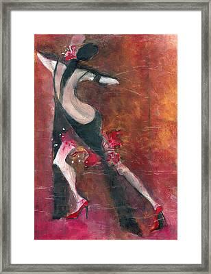 Tango Framed Print by Maya Manolova