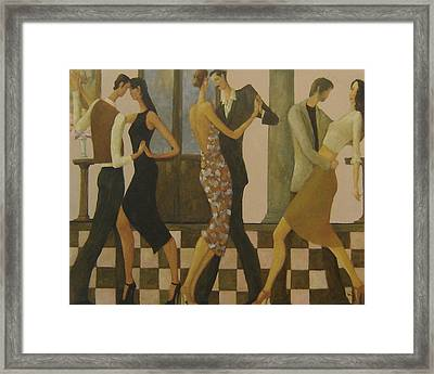 Tango Night Framed Print by Glenn Quist