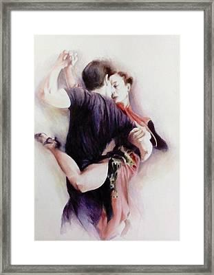 Tango Quartet 3/4 Framed Print by Alan Kirkland-Roath