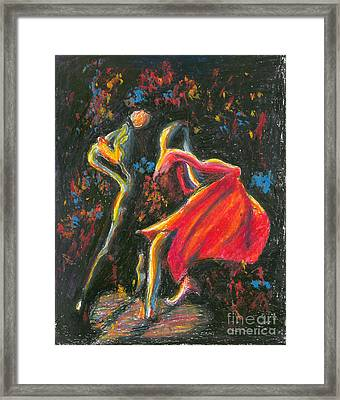 Tango. 27 March, 2015 Framed Print