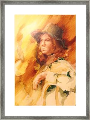 Tangy Framed Print by Denise Fulmer