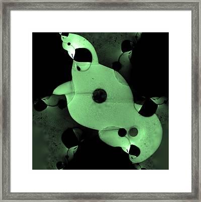 Taniwha Framed Print by Edan Chapman