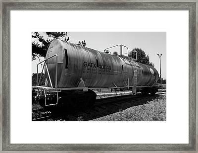 Tanker Framed Print