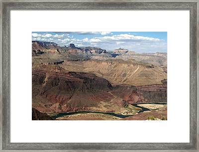 Tanner Rapids And The Colorado River Grand Canyon National Park Framed Print
