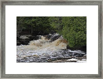 Tannic Waters Framed Print