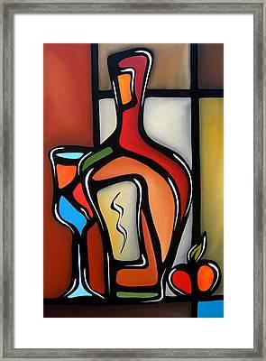 Tannins By Fidostudio Framed Print by Tom Fedro - Fidostudio
