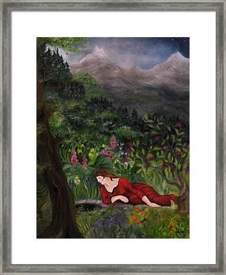 Tansel Of Loralin Framed Print