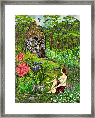 Tansel's Garden Framed Print by FT McKinstry