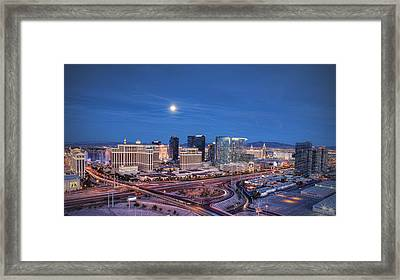 Framed Print featuring the photograph Tansient - Night by Ryan Smith