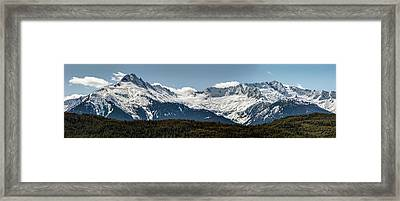 Framed Print featuring the photograph Tantalus Mountain Range On The Sea To Sky by Pierre Leclerc Photography