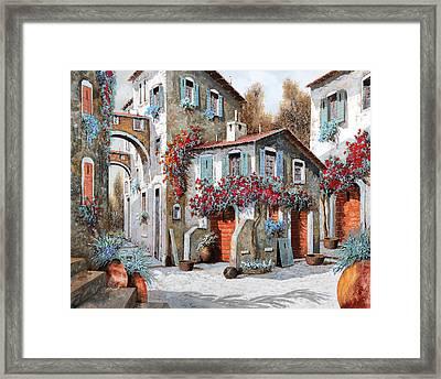 Tanti Tanti Fiori Framed Print by Guido Borelli
