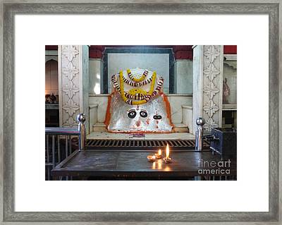 Framed Print featuring the photograph Tantric by Jean luc Comperat