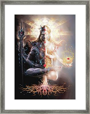 Tantric Marriage Framed Print by George Atherton
