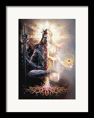 Tantra Framed Prints
